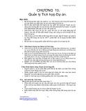 Giáo trình quản lý dự án - Chương 10