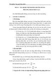 Thí nghiệm Công nghệ thực phẩm - Chương 4 Đường bánh kẹo - Bài 2