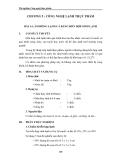 Thí nghiệm Công nghệ thực phẩm - Chương 5 Công nghệ lạnh thực phẩm - Bài 1