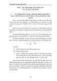 Thí nghiệm Công nghệ thực phẩm - Chương 5 Công nghệ lạnh thực phẩm - Bài 2