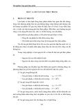 Thí nghiệm Công nghệ thực phẩm - Chương 5 Công nghệ lạnh thực phẩm - Bài 3