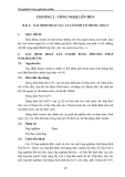 Thí nghiệm Công nghệ thực phẩm - Chương 2 Công nghệ lên men - Bài 1