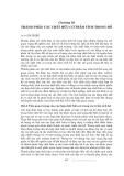 Các quá trình vật lý và hóa học của hồ - Chương 10