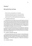 Di truyền tế bào ( Nguyễn Như Hiền ) - Chương 7