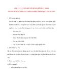 Tìn dụng Ngân Hàng: CHO VAY LƯU VỤ ĐỐI VỚI HỘ GIA ĐÌNH, CÁ NHÂN SẢN XUẤT NÔNG, LÂM NGƯ, DIÊM NGHIỆP THÔNG QUA TỔ VAY VỐN