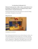 Lựa chọn phong cách phòng ngủ cho trẻ