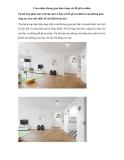Cảm nhận không gian đen trắng với đồ gỗ