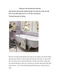 Những góc nhà tắm lãng mạn (tiếp theo