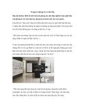 Trang trí phòng ăn và nhà bếp