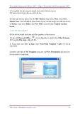 GIÁO TRÌNH Tìm hiểu Microsoft Powerpoint 2007 phiên bản tiếng việt(Lê Văn Hiếu) - 6