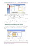 GIÁO TRÌNH Tìm hiểu Microsoft Word 2007 phiên bản tiếng việt(Lê Văn Hiếu) - 3