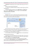 GIÁO TRÌNH Tìm hiểu Microsoft Word 2007 phiên bản tiếng việt(Lê Văn Hiếu) - 6