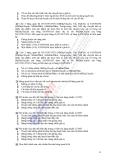 Ngân hàng đề thi Hệ thống thông tin quản lý ngành điện tử viễn thông - 2