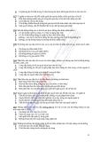 Ngân hàng đề thi Hệ thống thông tin quản lý ngành điện tử viễn thông - 3