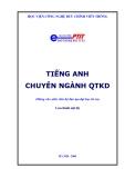 Tiếng anh Quản trị kinh doanh chương trình PTIT (Ths. Phạm Thị Nguyên Thư vs Ths Nguyễn Thị Thiết) -1