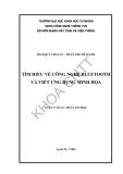 Tìm hiểu công nghệ bluetooth và viết ứng dụng minh họa (Đào Quý Thái An vs Trần Thị Mỹ Hạnh)- 1