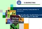 Maketing trong thương mại điện tử