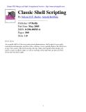 Classic Shell Scripting phần 1
