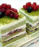 Bánh kem trà xanh