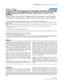 """Báo cáo y học: """" Safety of TNF-blocking agents in rheumatic patients with serology suggesting past hepatitis B state: results from a cohort of 21 patients"""""""