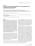 "Báo cáo y học: ""α The role of anti-α-actinin antibodies in the pathogenesis and monitoring of lupus nephritis"""