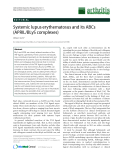 """Báo cáo y học: """"Systemic lupus erythematosus and its ABCs (APRIL/BLyS complexes)"""""""