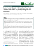 """Báo cáo y học: """"Experimental stress in inflammatory rheumatic diseases: a review of psychophysiological stress responses"""""""
