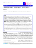 "Báo cáo y học: ""Altered fibroblast proteoglycan production in COPD"""