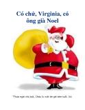 Có chứ, Virginia, có ông già Noel