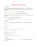 Khái niệm về ánh xạ tuyến tính