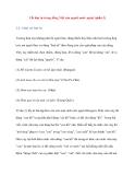 Lỗi loại từ trong tiếng Việt của người nước ngoài (phần 5)