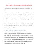 Quan hệ nghĩa và cấu trúc trong việc phân tích câu tiếng Việt