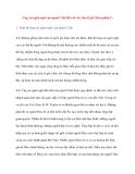 Ứng xử ngôn ngữ của người Việt đối với các yếu tố gốc Hán (phần 2)