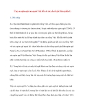 Ứng xử ngôn ngữ của người Việt đối với các yếu tố gốc Hán (phần 1)