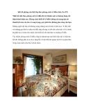 Thiết kế phòng của biệt thự theo phong cách cổ điển châu Âu (P2)