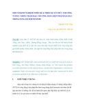 MỘT SỐ KINH NGHIỆM THIẾT KẾ & THIẾT KẾ TỔ CHỨC THI CÔNG TƯỜNG CHỐNG THẤM ĐẬP, THI CÔNG BẰNG BIỆN PHÁP ĐÀO HÀO TRONG DUNG DỊCH BENTONITE