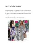 Sao và xu hướng váy maxi