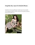Song Hye Kyo rực rỡ với sắc hè Roem