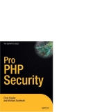 Pro PHP Security  phần 1