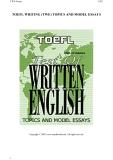 toefl test of written english topics and model essays phần 1