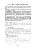 Giáo trình cơ sở thủy lực - Chương 4: Điều chỉnh và ổn định vận tốc