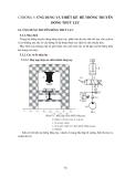 Giáo trình cơ sở thủy lực - Chương 5: Ứng dụng và thiết kế hệ thống truyền động thủy lực