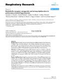 "Báo cáo y học: "" Endothelin receptor antagonist and airway dysfunction in pulmonary arterial hypertension"""