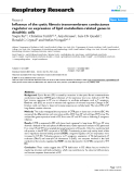 """Báo cáo y học: """"Influence of the cystic fibrosis transmembrane conductance regulator on expression of lipid metabolism-related genes in dendritic cells"""""""