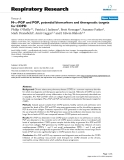 "Báo cáo y học: "" N-α-PGP and PGP, potential biomarkers and therapeutic targets for COPD"""