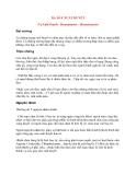 Bệnh Học Thực Hành: DẠ DÀY XUẤT HUYẾT (Vị Xuất Huyết - Hematémèse - Hematemesis)