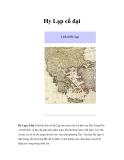 Tìm hiểu về Hy Lạp cổ đại