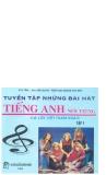Tuyển tập những bài hát Tiếng Anh nổi tiếng có lời Việt tham khảo tập 1 part 1
