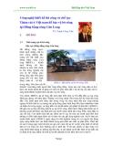 Công nghệ thiết kế thi công và chế tạo Thảm cát ở Việt nam để bảo vệ bờ sông tại Đồng bằng sông Cửu Long