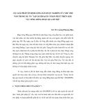 """CÁC GIẢI PHÁP ỔN ĐỊNH LÒNG DẪN ĐƯỢC NGHIÊN CỨU NHƯ THẾ NÀO TRONG DỰ ÁN """"LẬP QUI HOẠCH CƠ BẢN PHÁT TRIỂN KHU VỰC SÔNG HỒNG ĐOẠN QUA HÀ NỘI"""""""